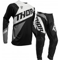 2020 Thor Sector BLADE Youth Kids Motocross Gear BLACK WHITE