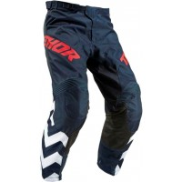 2019 Thor MX Pulse Stunner Motocross Pants Midnight White