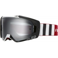 2020 Fox VUE SPARK Motocross Goggles VLAR Flame Red with Mirrored Lens