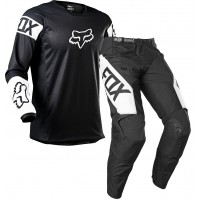 2021 Fox 180 REVN Motocross Gear BLACK WHITE