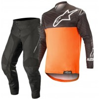 Alpinestars Venture R Enduro Gear Pants & Jersey BLACK ORANGE 30 ONLY