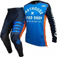 Fasthouse SPEEDSTYLE Motocross Gear NAVY HERITAGE BLUE 28 or 38 ONLY