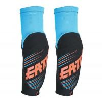 Leatt 3DF 5.0 Elbow Guard Youth Junior Blue Orange
