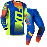 2021 Fox 180 OKTIV Motocross Gear BLUE