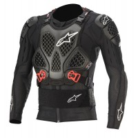 Alpinestars Bionic Tech V2 Action Jacket Body Armour Suit Black Red