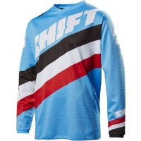 Shift WHIT3 Label Tarmac Motocross Jersey BLUE WHITE