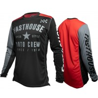Fasthouse PHANTOM Motocross Jersey BLACK XXL ONLY