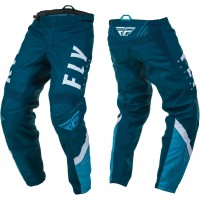 2020 Fly Racing F16 Motocross Pants Navy Blue White