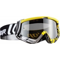 Thor MX Sniper GEO Motocross Goggles Yellow Black