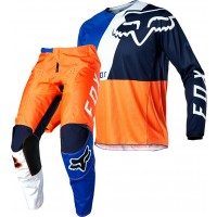 2020 Fox 180 SE Motocross Gear LOVL ORANGE BLUE