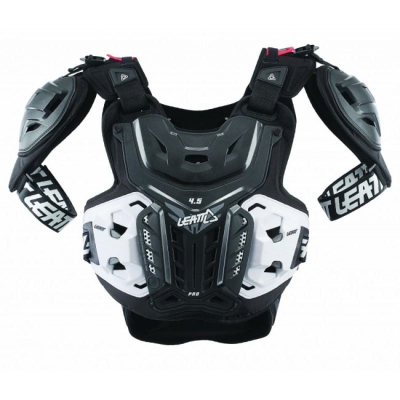 Leatt 4.5 Pro Chest Protector Body Armour Adult ACU CE Approved EN1621
