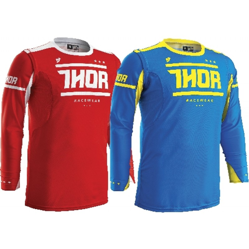 Thor Prime Fit Squad Motocross Jersey