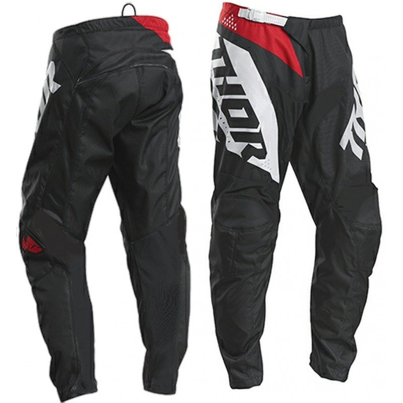 2020 Thor Sector BLADE Youth Kids Motocross Pants CHARCOAL RED