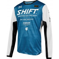 2019 Shift WHIT3 Label MUSE Motocross Jersey BLUE