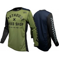 Fasthouse HERITAGE Motocross Jersey OLIVE