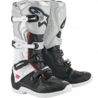 2020 Alpinestar Tech 5 VICTORY Motocross Boots Black White Silver