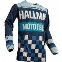 Thor MX Hallman Heater Motocross Jersey Midnight Sky