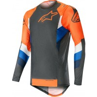 2019 Alpinestars Supertech Anthracite Orange Motocross Jersey