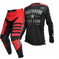 Fasthouse SPEEDSTYLE Motocross Gear RED PHANTOM BLACK