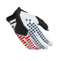 Shift 3LACK Label PRO Motocross Gloves BLACK WHITE
