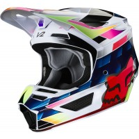 Fox V2 KRESA Motocross Helmet MULTI SMALL or XL ONLY