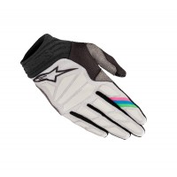 Alpinestars LE Vision Aviator Motocross Gloves Cool Grey White Black