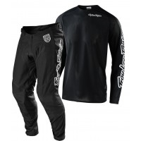 2020 Troy Lee Designs TLD MX SE Pro Air Motocross Gear SOLO BLACK
