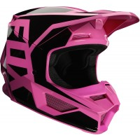 2020 Fox V1 PRIX Youth Kids Motocross Helmet PINK