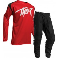 Thor Sector Link Motocross Gear BLACK RED