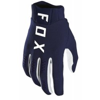 Fox Flexair Motocross Gloves NAVY