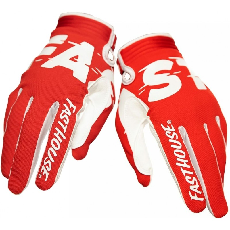 Fasthouse SPEEDSTYLE Motocross Gloves TURBO RED