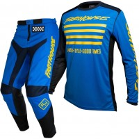 Fasthouse GRINDHOUSE Motocross Gear BLUE SLASH BLUE YELLOW 28 or 38 ONLY