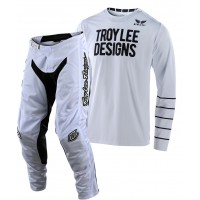2020 Troy Lee Designs TLD GP AIR PINSTRIPE Motocross Gear White XXL ONLY