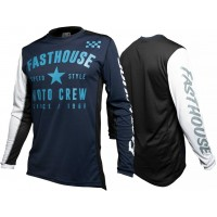 Fasthouse PHANTOM Motocross Jersey NAVY