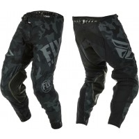 2020 Fly Racing Evolution Motocross Pants Black Grey Camo