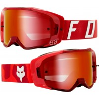 2021 Fox VUE PSYCOSIS Motocross Goggles FLAME RED