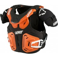Leatt Fusion 2.0 Junior Youth Kids Motocross Neck Brace Armour Orange