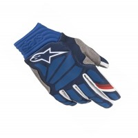 2019 Alpinestars Aviator Motocross Gloves Dark Blue White