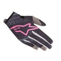 2019 Alpinestars RADAR Motocross Gloves Navy Flou Pink