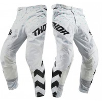 2019 Thor MX Pulse Stunner Motocross Pants Black White