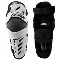 Leatt Dual Axis Knee and Leg Guards White