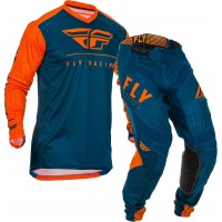 2020 Fly Racing Lite Hydrogen Motocross Gear ORANGE NAVY