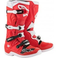 Alpinestar Tech 5 Motocross Boots Red White