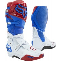 NEW Fox Instinct Motocross Boots BLUE RED