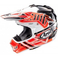 Arai MX-V Motocross Helmet MXV STAR Orange
