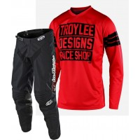 2020 Troy Lee Designs TLD GP CARLSBAD Motocross Gear Red Black SMALL ONLY