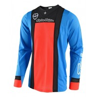 Troy Lee Designs SQUADRA Cyan Orange TLD SE Air Motocross Jersey