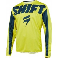 2019 Shift WHIT3 Label YORK Kids Youth Motocross Jersey YELLOW NAVY