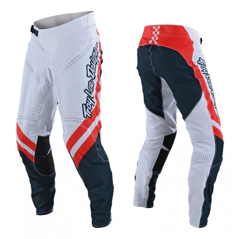 Troy Lee Designs TLD SE ULTRA Motocross Pants FACTORY WHITE NAVY