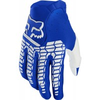 Fox Pawtector Motocross Gloves BLUE